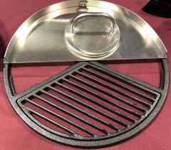 "Ballistic Griddle For BGE and 18.5"" Webers"