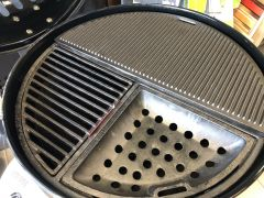 Halfmoon Griddle and Grate Set for the 22.5""