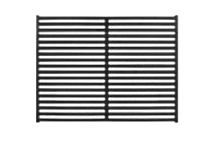 "17.5"" x 10.25"" Cast Iron Grates (Set of 2)"