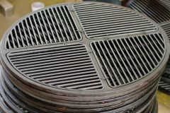 "26.75"" Cast Iron Grate, Enameled"