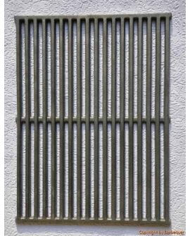 "17.7"" x 13.7"" Cast Iron Grates (Set of 2)"